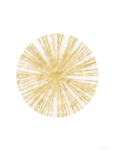 Spinning Gold Ball art print by Linda Woods for $28.75 CAD