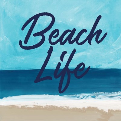 Beach Life art print by Linda Woods for $48.75 CAD