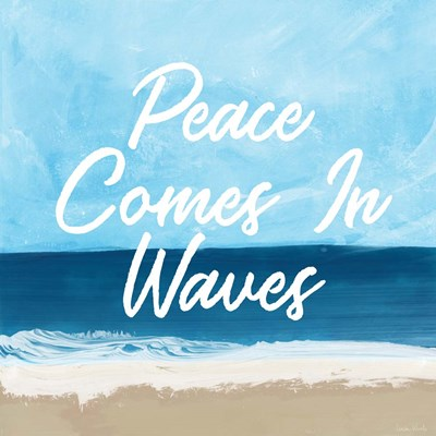 Peace Comes in Waves art print by Linda Woods for $48.75 CAD