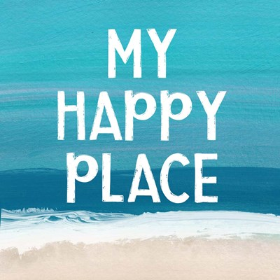 My Happy Place art print by Linda Woods for $48.75 CAD