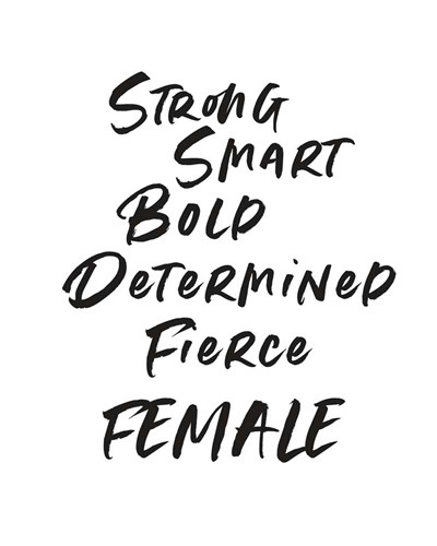 Strong Female art print by Linda Woods for $40.00 CAD