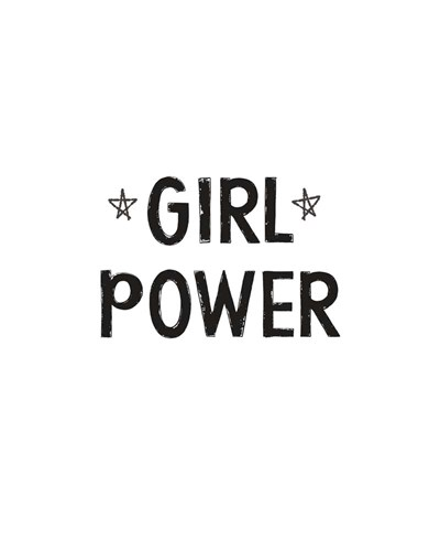 Girl Power art print by Linda Woods for $40.00 CAD