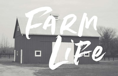 Farm Life Barn art print by Linda Woods for $43.75 CAD