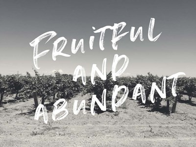 Fruitful and Abundant art print by Linda Woods for $41.25 CAD