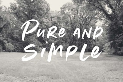 Pure and Simple Field art print by Linda Woods for $43.75 CAD