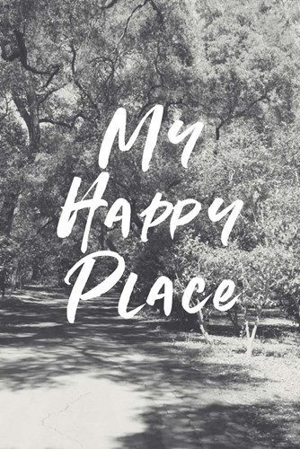 Happy Place art print by Linda Woods for $43.75 CAD