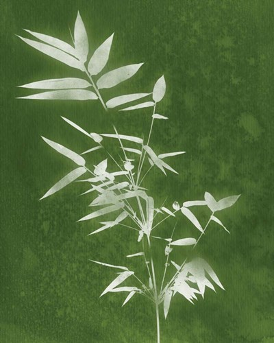 Green Spa Bamboo III art print by Linda Woods for $40.00 CAD