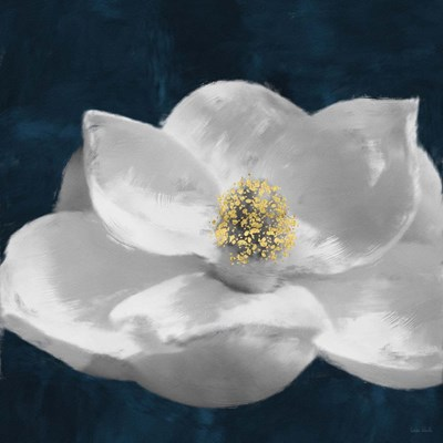 Painted Magnolia II art print by Linda Woods for $80.00 CAD