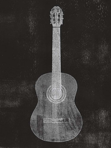 Old Guitar art print by Linda Woods for $53.75 CAD