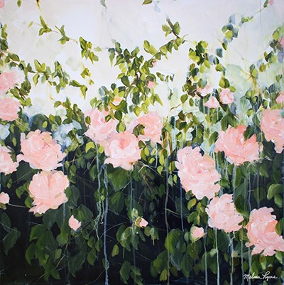 Roses I art print by Melissa Lyons for $35.00 CAD