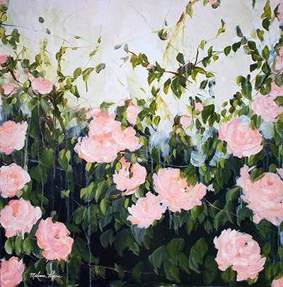 Roses II art print by Melissa Lyons for $35.00 CAD