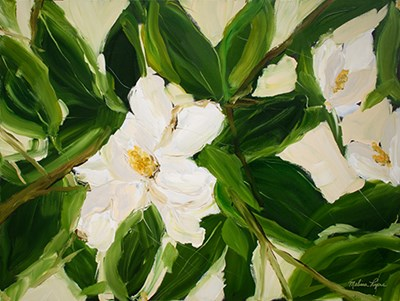 Magnolia art print by Melissa Lyons for $41.25 CAD