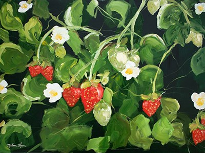 Strawberry Patch art print by Melissa Lyons for $53.75 CAD