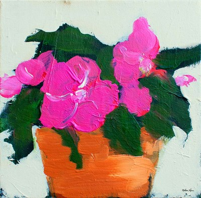 Impatiens art print by Melissa Lyons for $78.75 CAD