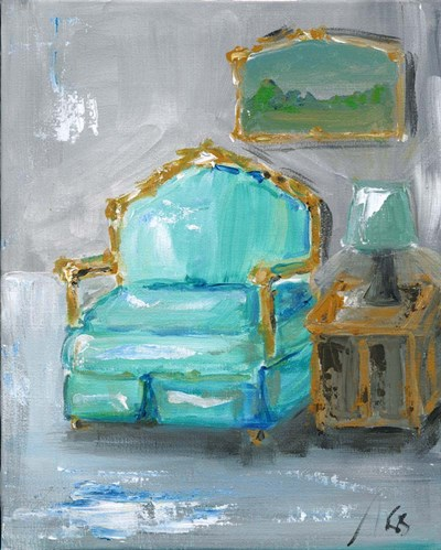 Chair art print by Molly Susan Strong for $51.25 CAD