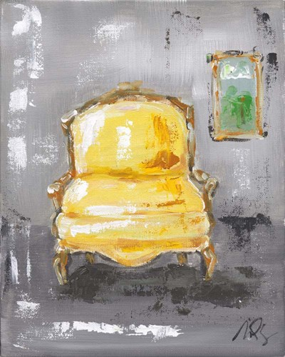 Yellow Chair art print by Molly Susan Strong for $51.25 CAD