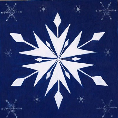 Snowflake Quilt Block art print by Julie Peterson for $48.75 CAD