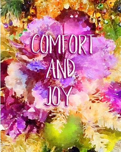 Comfort and Joy art print by Ramona Murdock for $40.00 CAD