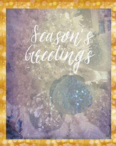 Season's Greetings art print by Ramona Murdock for $40.00 CAD