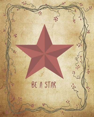 Be a Star art print by Ramona Murdock for $40.00 CAD