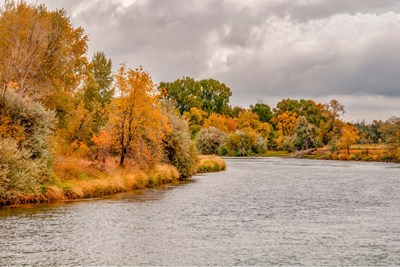 Snake River Autumn III art print by Ramona Murdock for $43.75 CAD
