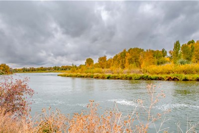 Snake River Autumn VI art print by Ramona Murdock for $43.75 CAD