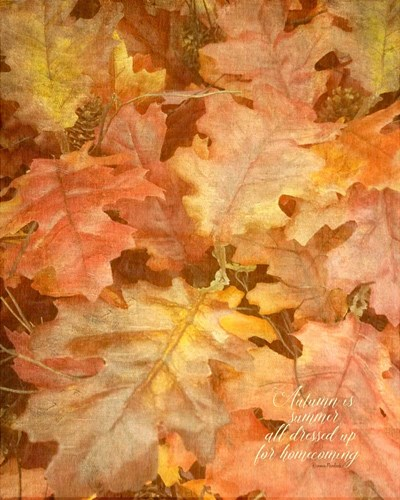 Autumn Dressed Up art print by Ramona Murdock for $40.00 CAD