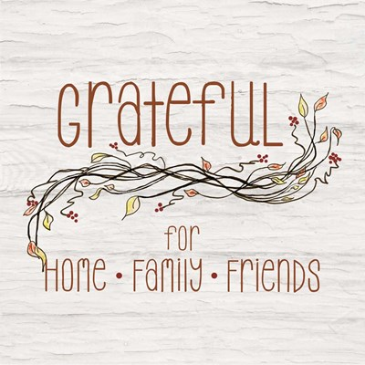 Grateful for Home II art print by Ramona Murdock for $35.00 CAD