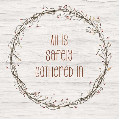 Safely Gathered II art print by Ramona Murdock for $35.00 CAD