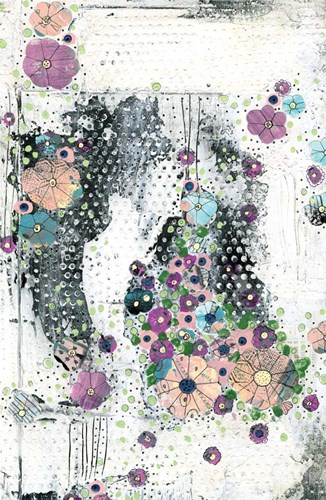 Floral Abstract I art print by Sarah Ogren for $45.00 CAD