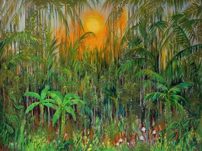 Jungle art print by Sandra Francis for $67.50 CAD