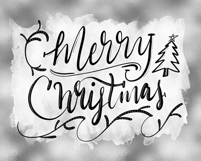 Merry Christmas art print by Tara Moss for $40.00 CAD