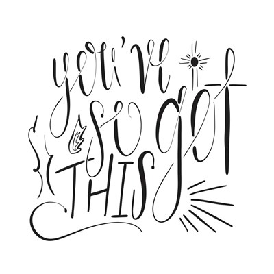 You've So Got This art print by Tara Moss for $35.00 CAD