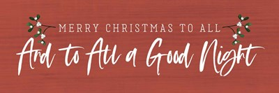 And to All a Good Night art print by Tammy Apple for $41.25 CAD