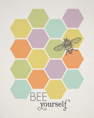 Bee Yourself art print by Tammy Apple for $40.00 CAD