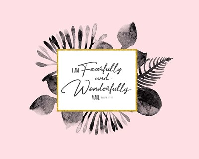 Fearfully and Wonderfully Made art print by Tammy Apple for $40.00 CAD