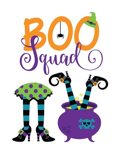 Boo Squad art print by Tamara Robinson for $36.25 CAD