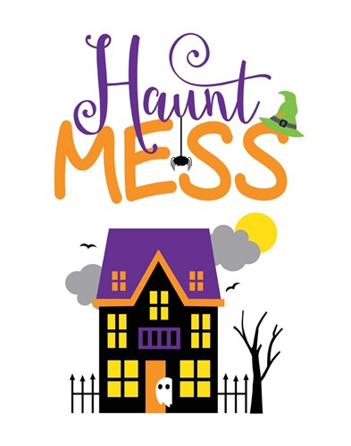 Haunt Mess art print by Tamara Robinson for $36.25 CAD