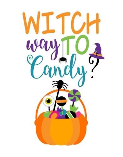 Witch Way to Candy art print by Tamara Robinson for $36.25 CAD
