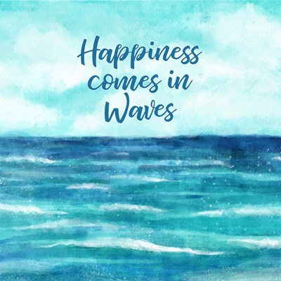 Happiness Comes in Waves art print by Tamara Robinson for $48.75 CAD