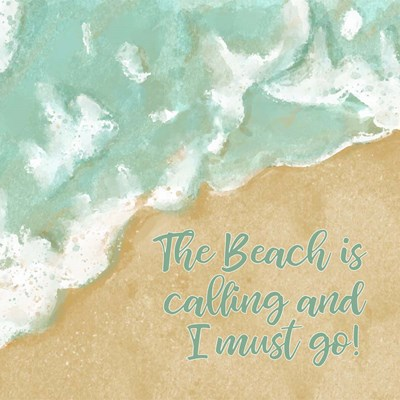 The Beach is Calling art print by Tamara Robinson for $48.75 CAD