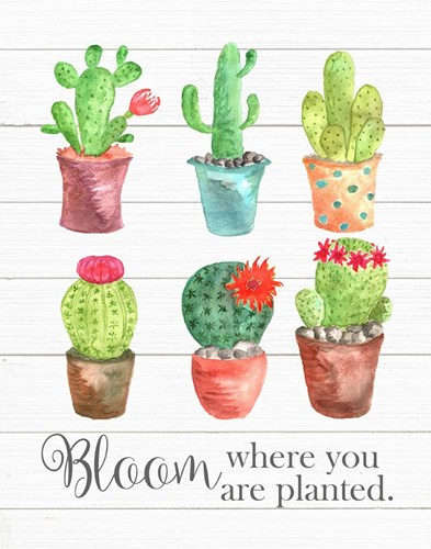 Bloom Where You Are Planted art print by Tamara Robinson for $36.25 CAD