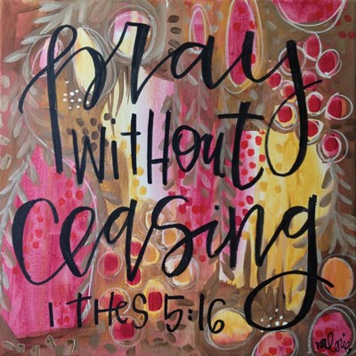 Pray art print by Valerie Wieners for $48.75 CAD