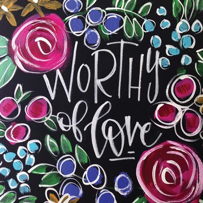 Worthy of Love art print by Valerie Wieners for $48.75 CAD