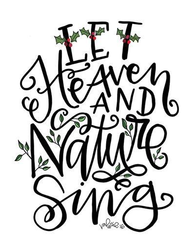 Let Heave and Nature Sing art print by Valerie Wieners for $40.00 CAD