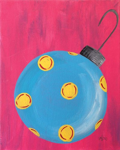 Blue Ornament art print by Valerie Wieners for $40.00 CAD