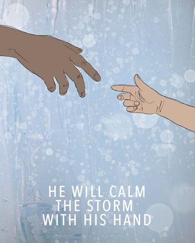 Calm the Storm art print by Valerie Wieners for $40.00 CAD