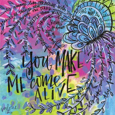 Come Alive art print by Valerie Wieners for $48.75 CAD