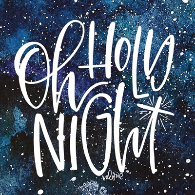 Holy Night art print by Valerie Wieners for $48.75 CAD