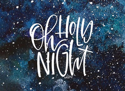 Oh Holy Night art print by Valerie Wieners for $40.00 CAD